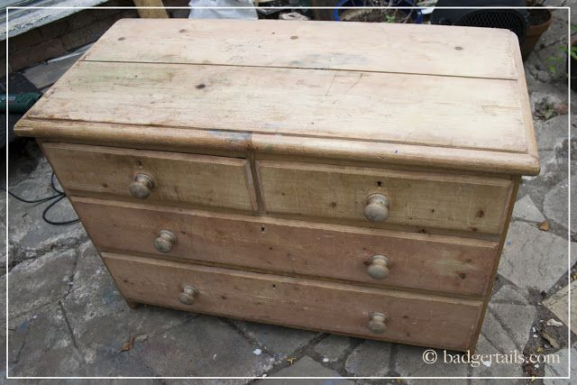 Badgertails - Homemaker: Chest of Drawers Makeover