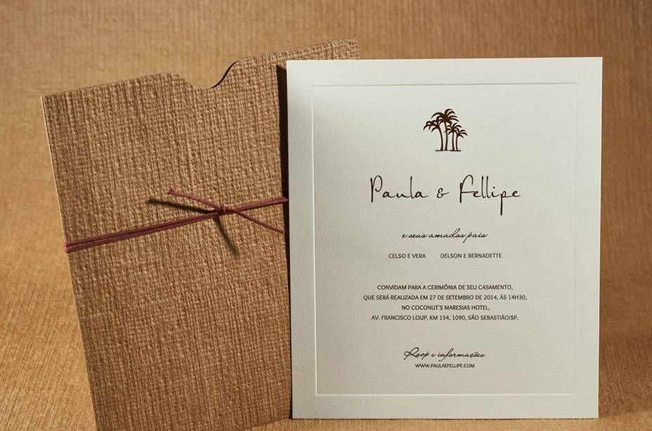 e wedding invitation for friends%0A Convites de casamento  diferentes modelos para voc   se inspirar   Amigos  and Casamento