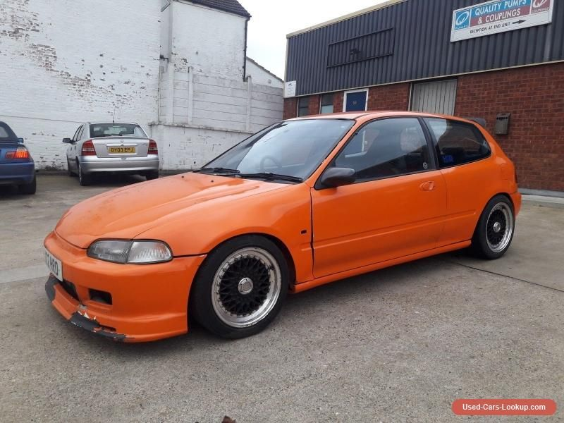 1993 Honda Civic Eg4 Turbo Fully Forged D16Z6 250 Bhp Modified