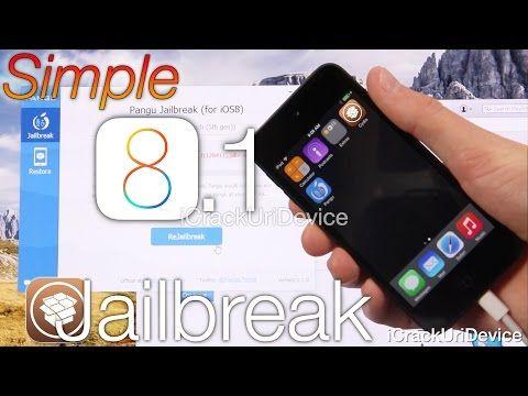 NEW Jailbreak iOS 8 – 8.1 Untethered Pangu iOS 8 iPhone 6 Plus,5S,5C,4S,iPod 5 & iPad Mini 3 Air 2,4