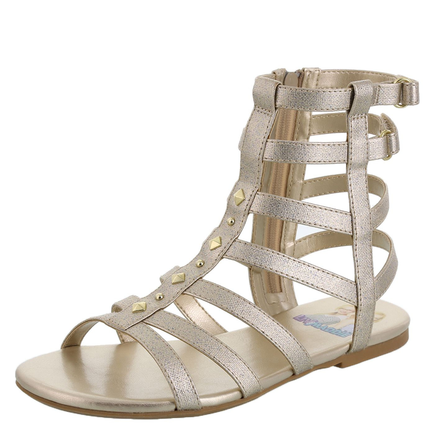 f988aaf402213 Girls Liv and Maddie High Gladiator Sandal - Girls