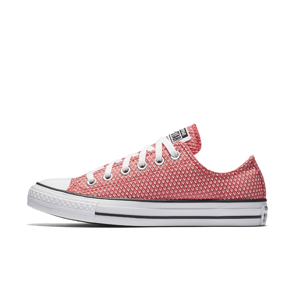 07412e98f60 Converse Chuck Taylor All Star Woven Low Top Women s Shoe Size 10.5 (Red) -  Clearance Sale