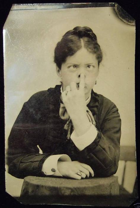 The Victorians weren't *always* serious...