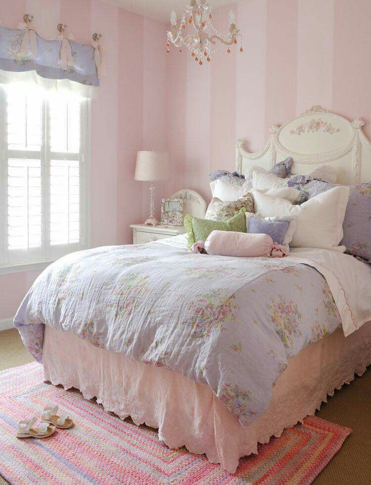 Pink bedroom decor Pin by Ideas For