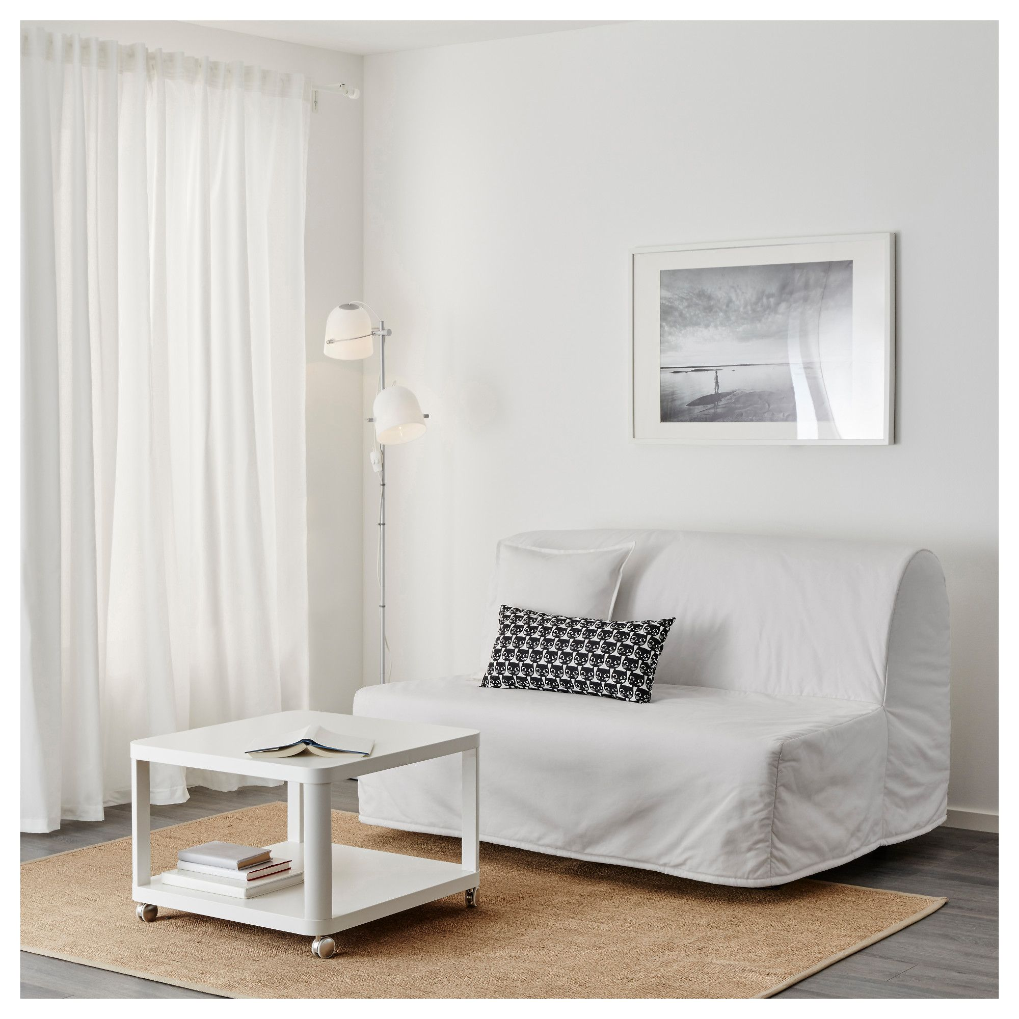 lycksele h vet two seat sofa bed ransta white ikea good ideas rh pinterest com