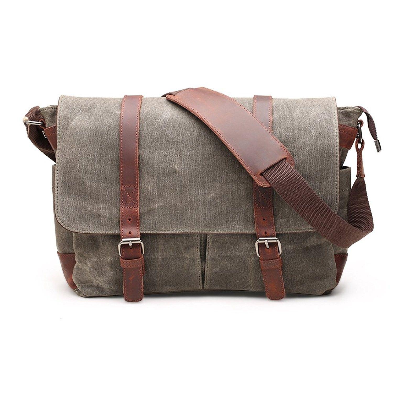 e1bfc0aa3eef Men's Bags, Shoulder Bags, Canvas Messenger Bag 15 Inch Shoulder ...