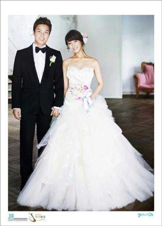 Wonder Girls Sun S Wedding Photos Revealed Korean Celebrity Couples Wedding Korean Wedding