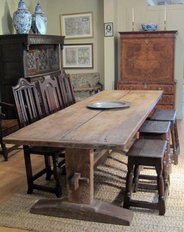 tudor long or refectory table english 1550 1600 antiques misc rh pinterest com
