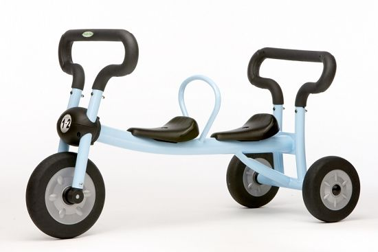 ツ ღ Have A Blessed Day ツ ღfor Twins A Tricycle Built For Two Twin Toddlers Cool Baby Stuff Tricycle