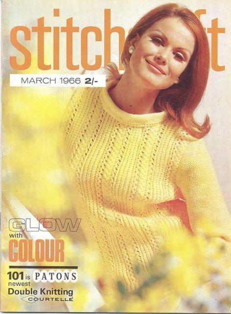 Vintage Stitchcraft Magazine March 1966