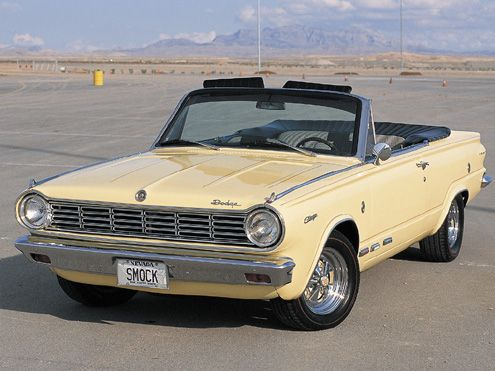 1965 Dodge Dart Charger 273 I Thought They Only Made These In The