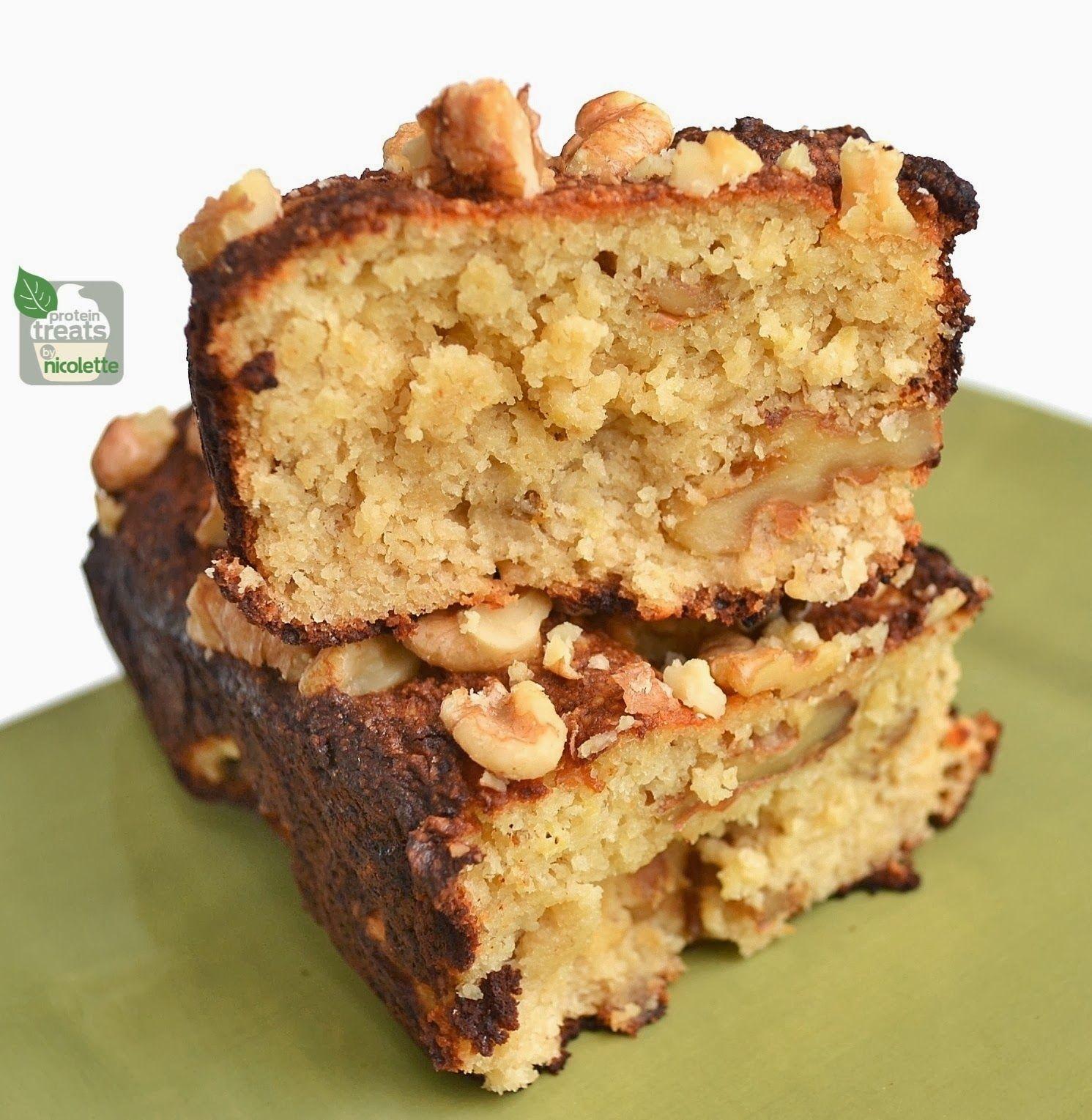 Gluten-Free Paleo Friendly Protein Banana Bread #glutenfree #bananabread #paleo #protein