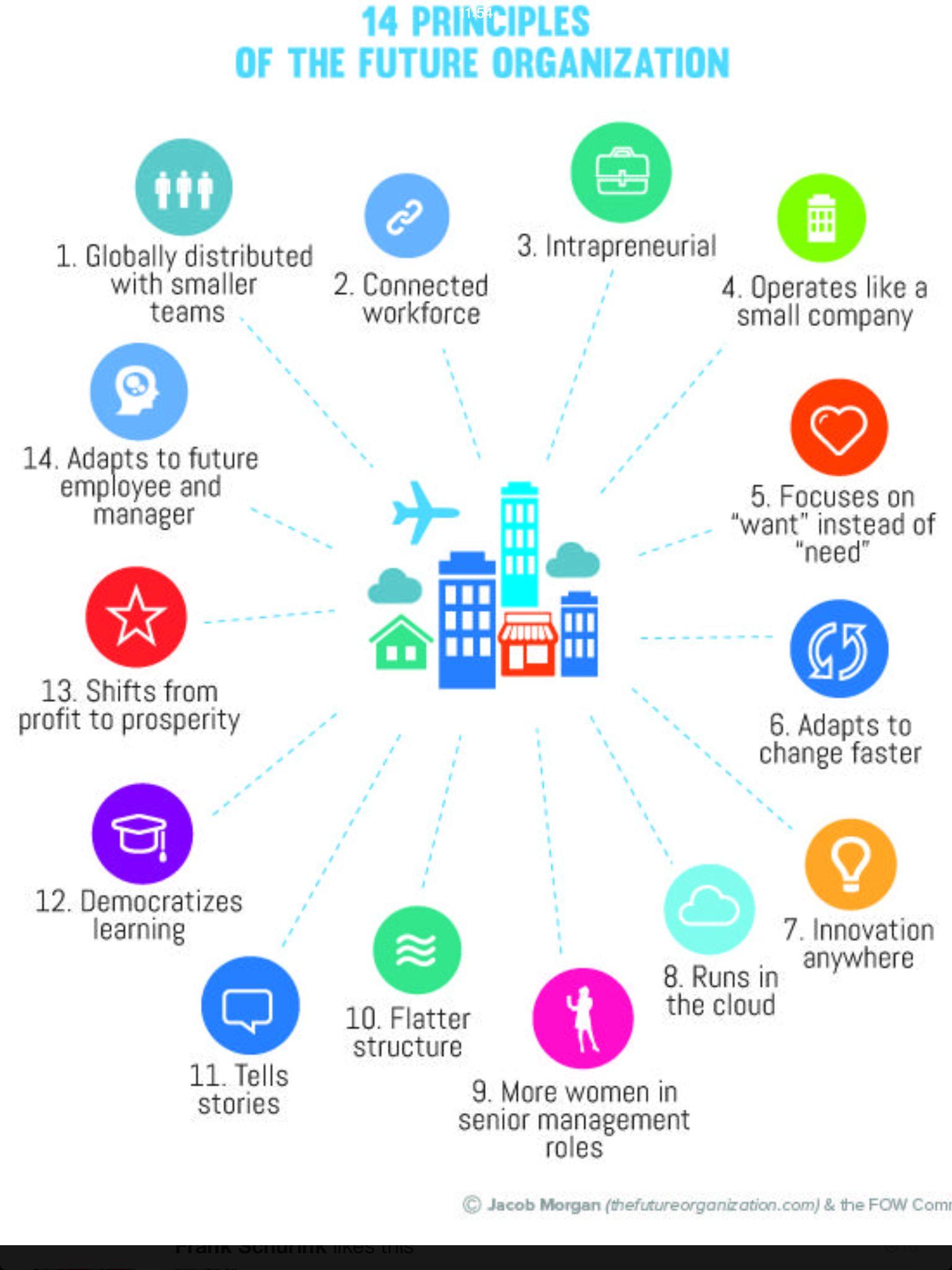 Future organizations Organization development