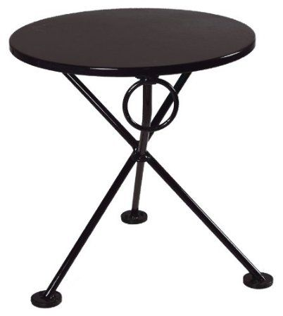 Dining Table, Small Round Folding Cafe Table