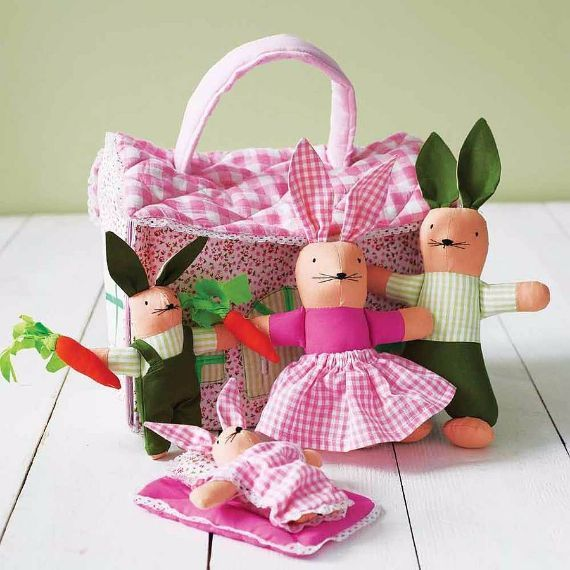 Pin by ldy bsil on spring easter in pink pinterest easter bunnies in a cottage gifts for children negle Images