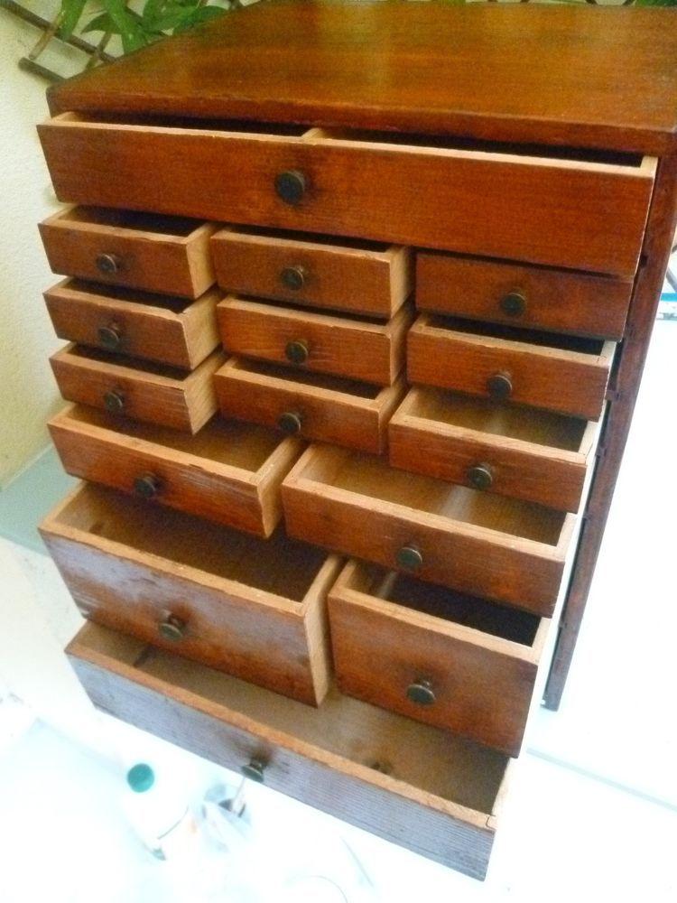 layette d horloger petit meuble de m tier ancien horlogerie bijouterie meubles pinterest. Black Bedroom Furniture Sets. Home Design Ideas