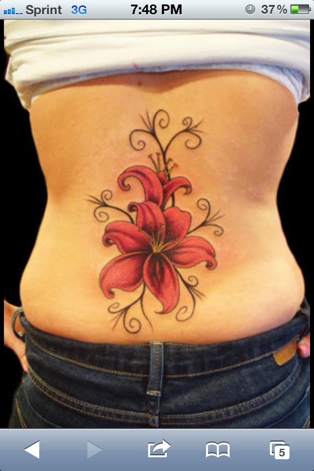 Lily Tattoo Tattoos Pinterest