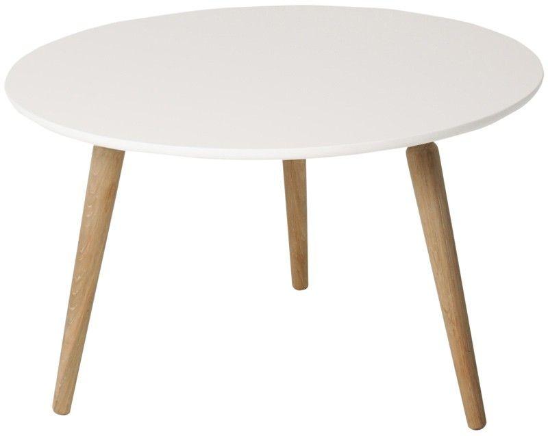Reebee Sofabord rundt - H:48 cm - Lækert rundt sofabord i nordisk ...