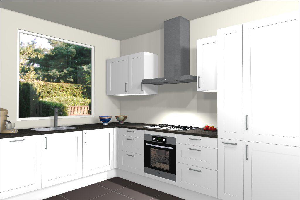 3d ontwerp van hoekkeuken hoekkeukens pinterest for 3d ontwerp keuken