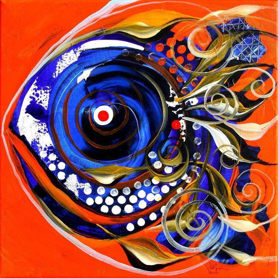 Felix murillo lleno de colores painting acrylic artwork fish art - Fish Fine Art Google Search Fish Paintingsabstract Acrylic