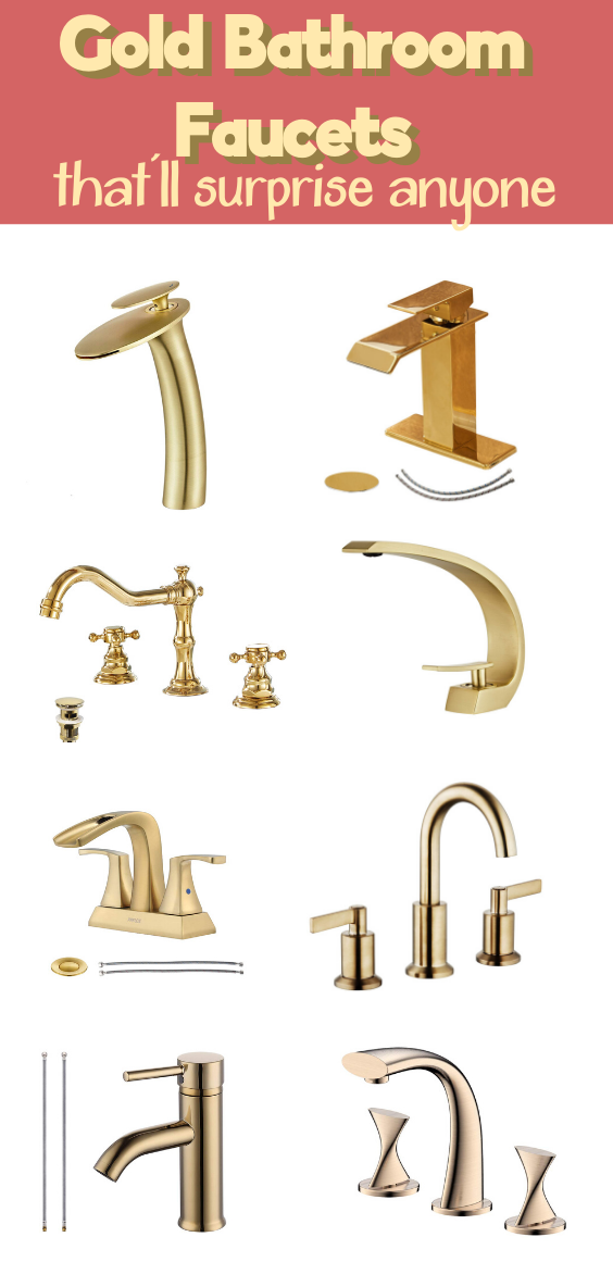 Gold Bathroom Faucets That Only Look Expensive In 2020 Gold