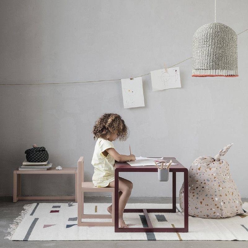Ferm Living Little Architect Table Rose I 2019 Børneværelse