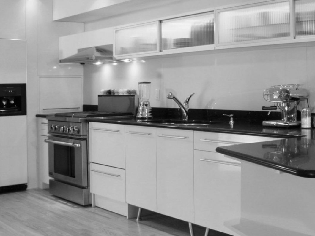 White Kitchen Cabinets With Dark Countertops Black Granite Avatar