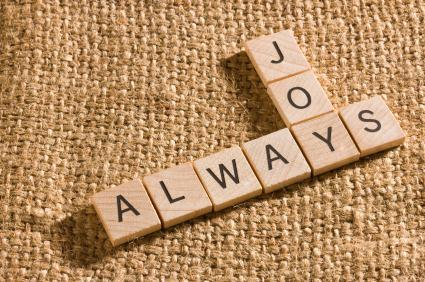 The Slogan 'Always JOY!' Scrabble words, Words, Joy
