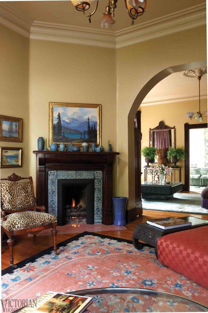 Victorian Room: | Victorian rooms, Victorian living room ...