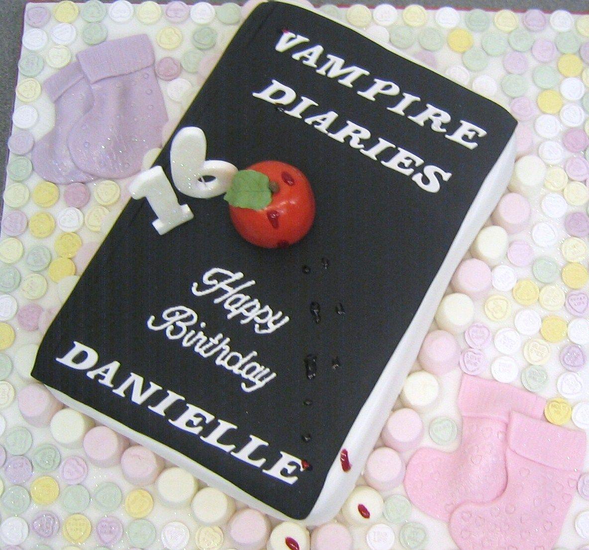 Vampire Diaries Cake Karmyns Sweet 16 Pinterest Cake 21st