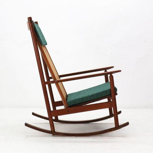 vintage model 532 teak rocking chair by hans olsen for juul rh pinterest com