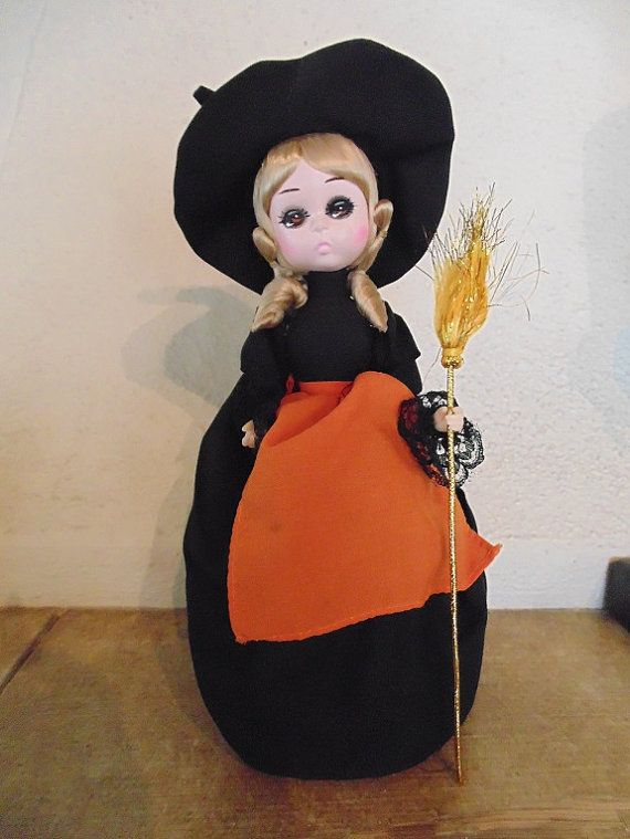 Miss October Bradley Doll Witch Bradley Doll by vintageomaha, $20.00