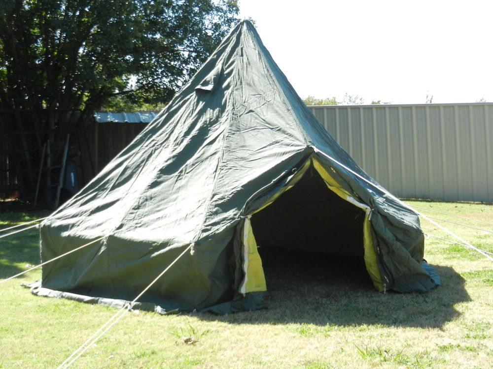 UNISSUED 5 Man Arctic Hexagonal Military Tent & UNISSUED 5 Man Arctic Hexagonal Military Tent | tents | Pinterest ...