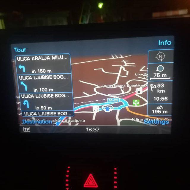 Najnovije navigacione mape Srbije i Evrope 2019 za MMI 3G Plus Audi