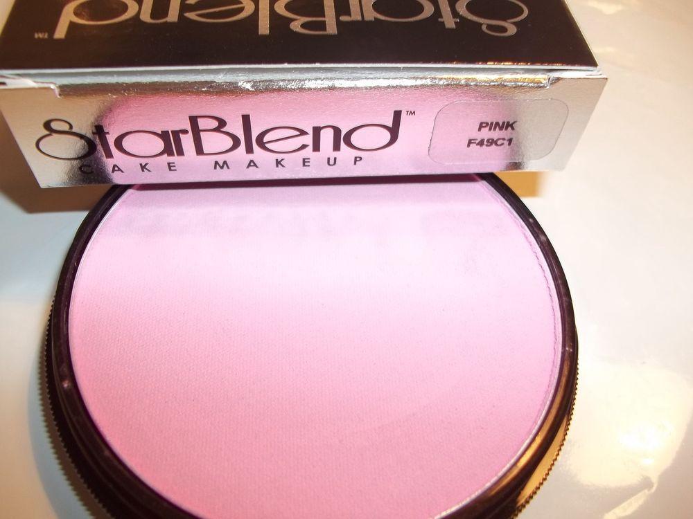 Mehron Pink Star Blend Cake Pancake Water Base Stage Makeup Professional Usa Ebay Pink Stars Mehron Stage Makeup