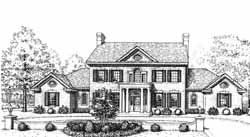 New england colonial House Plan 4 Bedrooms 3 Bath 3335 Sq Ft Plan 8 1103