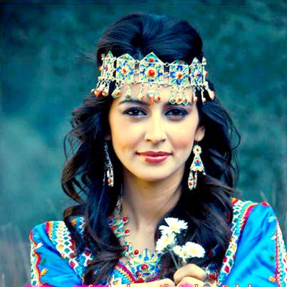 Bijoux ethniques berbères kabyles, bijoux anciens marocains du Maroc