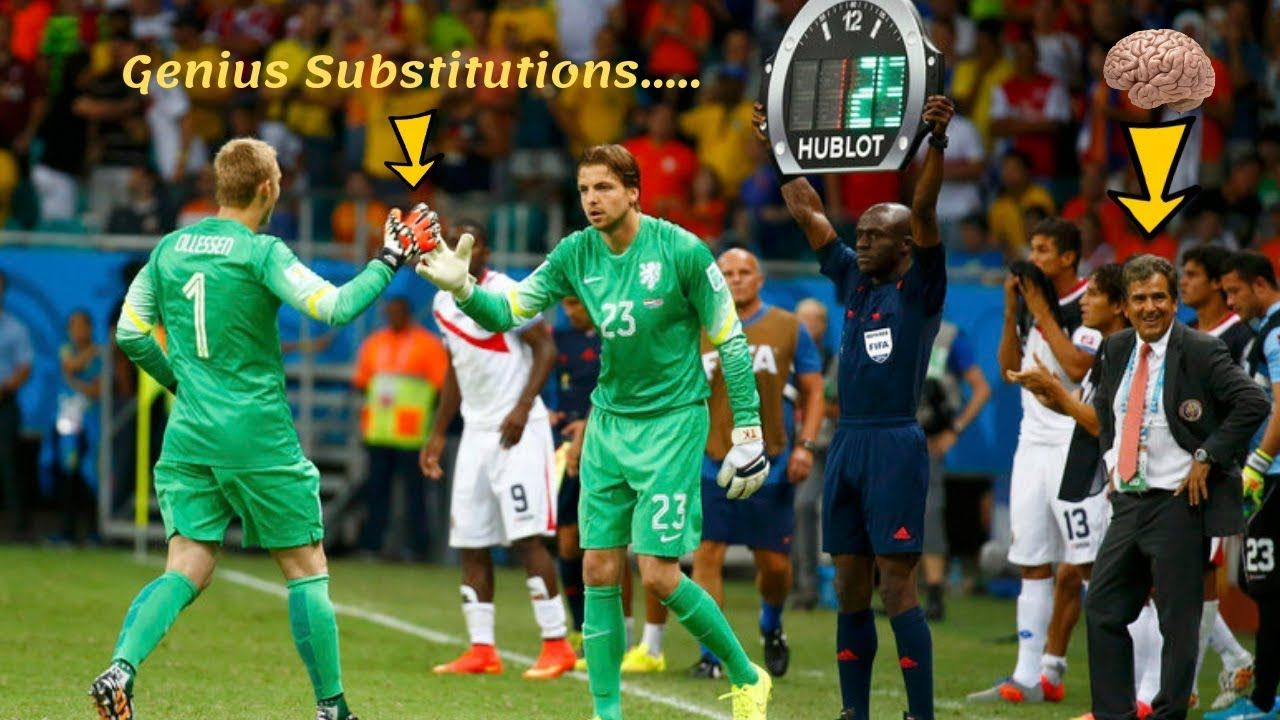 Top 10 Genius Substitutions In Football History With Images
