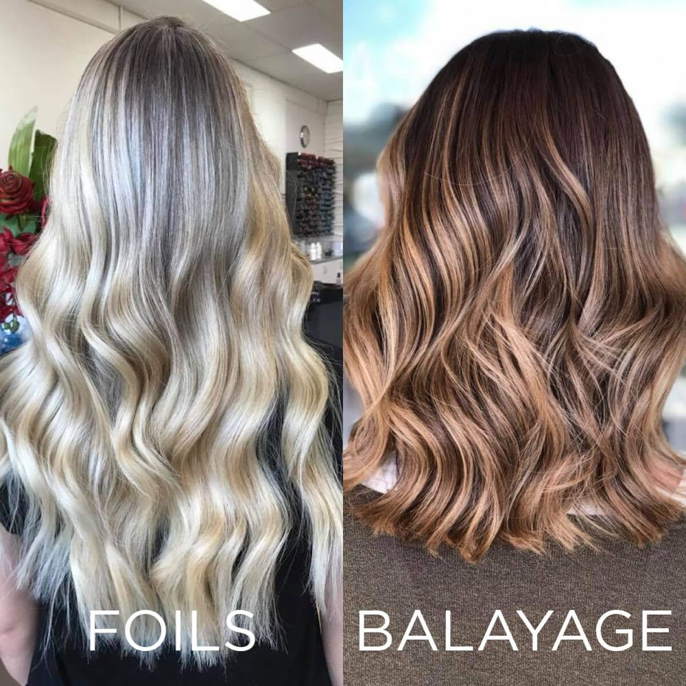 Balayage Vs Highlights What S The Differences Epic Hair Designs Balayage Vs Highlights Balayage Hair Color Techniques