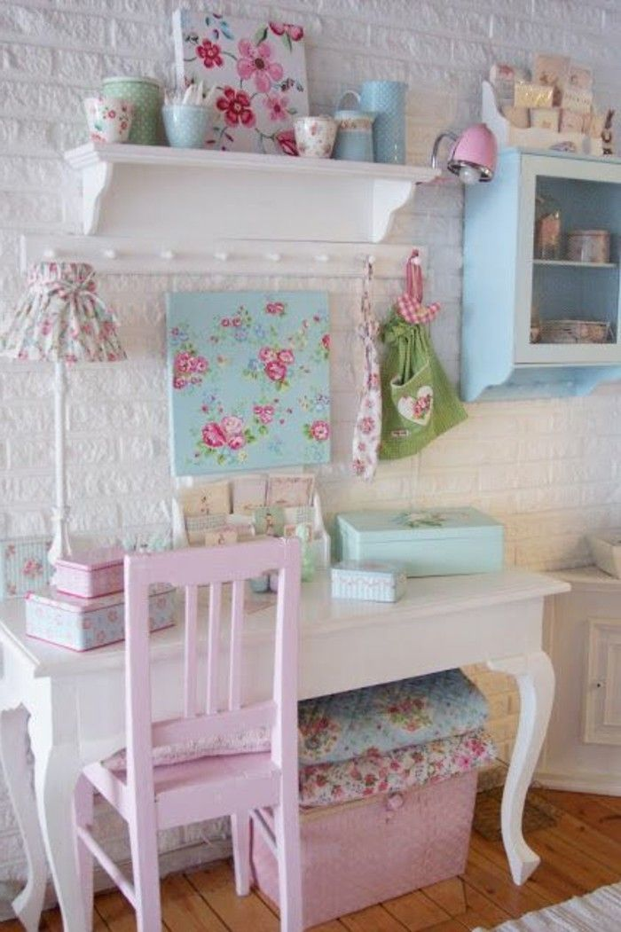 Les meubles shabby chic en 40 images d\'intérieur! | Shabby, Vintage ...