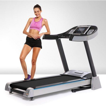 ancheer 40 foldable electric treadmill with power incline