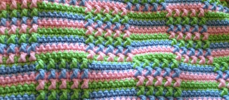 Free Pattern) This Blocks Crochet Afghan Is Absolutely Gorgeous ...