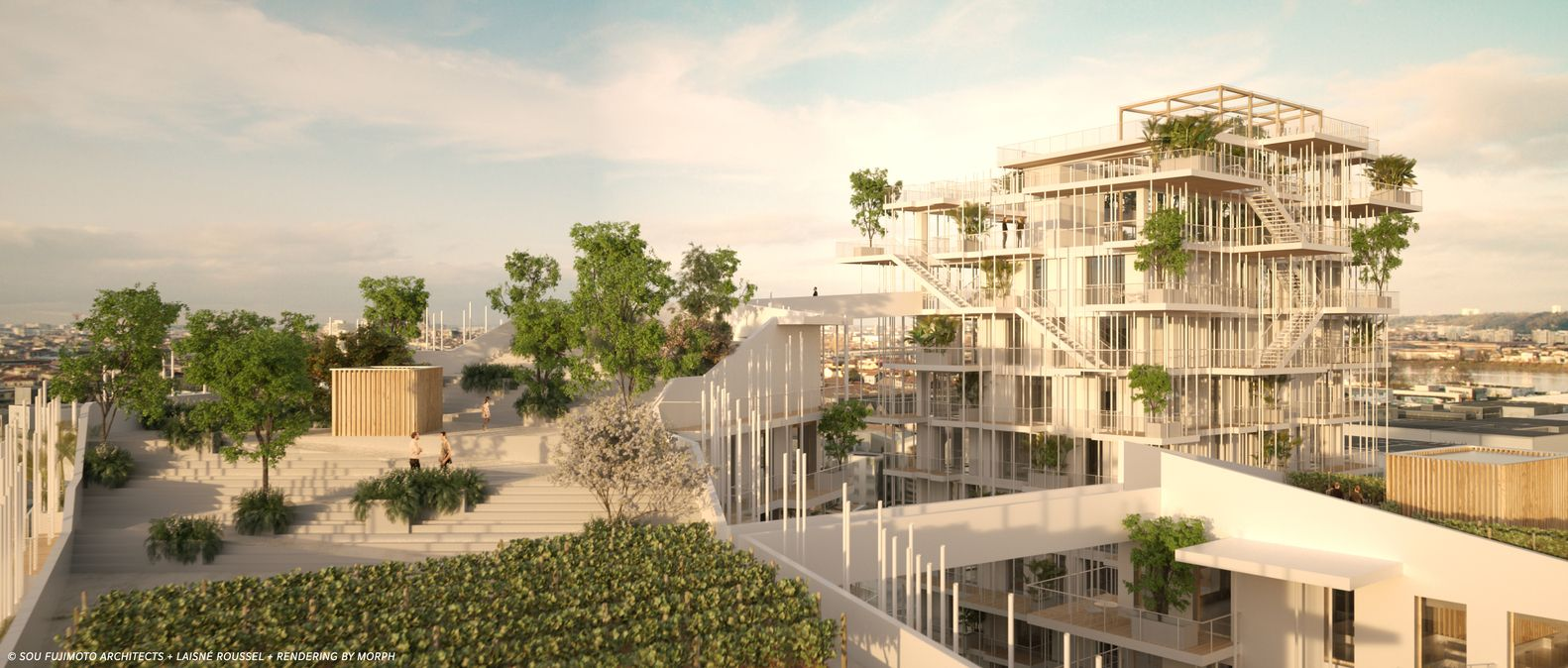 Gallery of Sou Fujimoto and Laisné Roussel Propose Wooden Mixed-Use ...