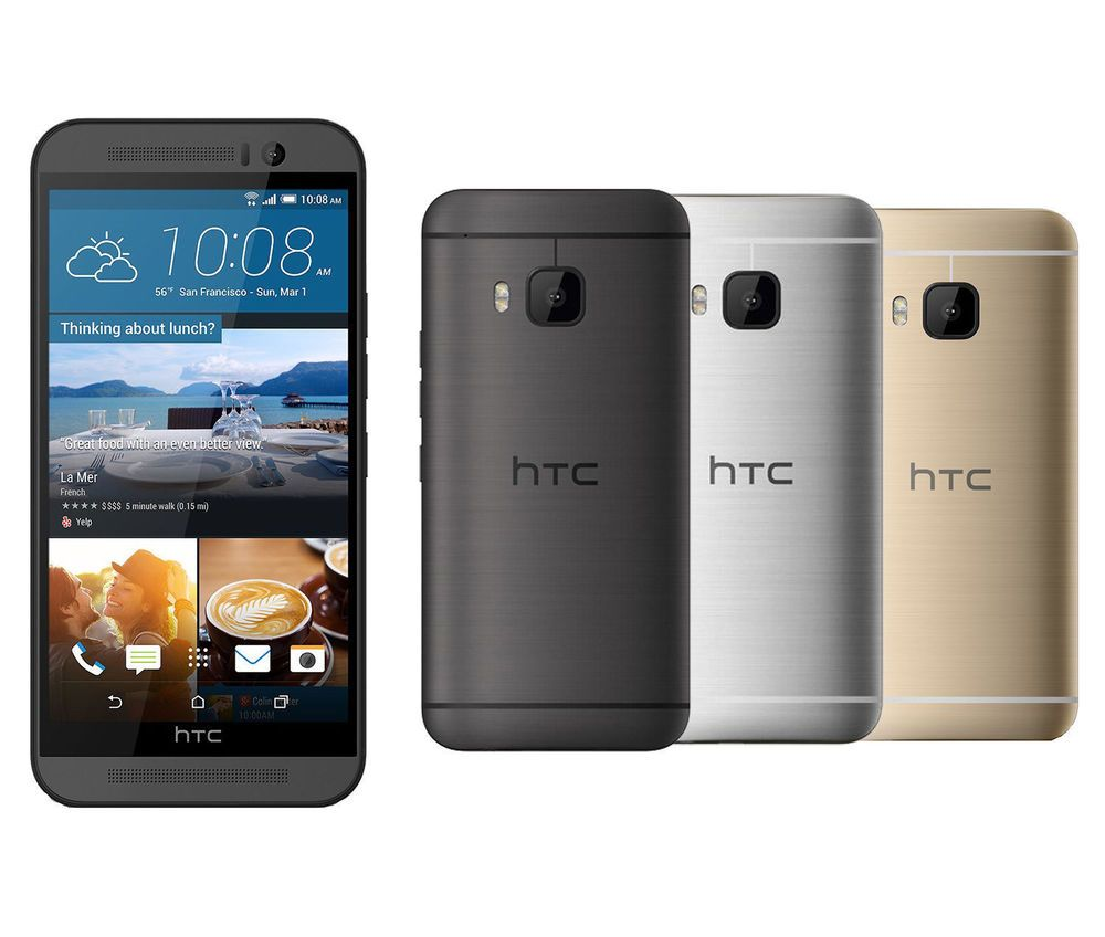 promo code a283a 0a185 HTC One M9 32GB GSM 4G LTE Android Factory Unlocked Smartphone ...
