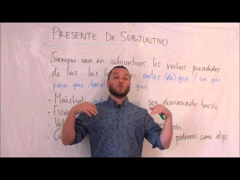 Locuciones Para Usar El Subjuntivo Como Un Espanol