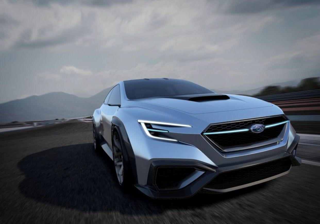 Future Jdm Subaru Corporation Unveiled The Subaru Viziv