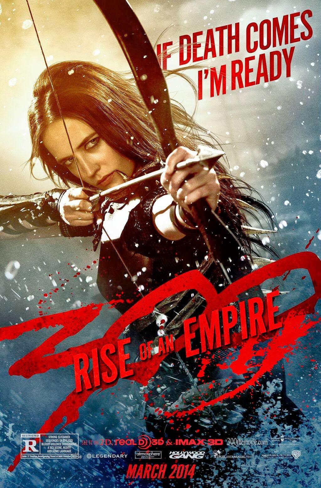 Warner Bros Pictures Ha Publicado 5 Nuevos Posters De La Película 300 Rise Of An Empire 300 El Nacimiento De Un Imperio Cin Empire Movie Eva Green Empire
