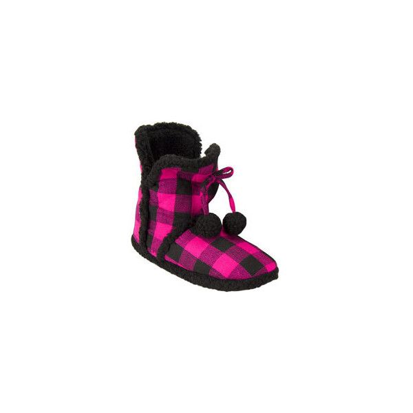 Price ($20) ❤ liked on Polyvore featuring shoes, slippers, pajamas and boots