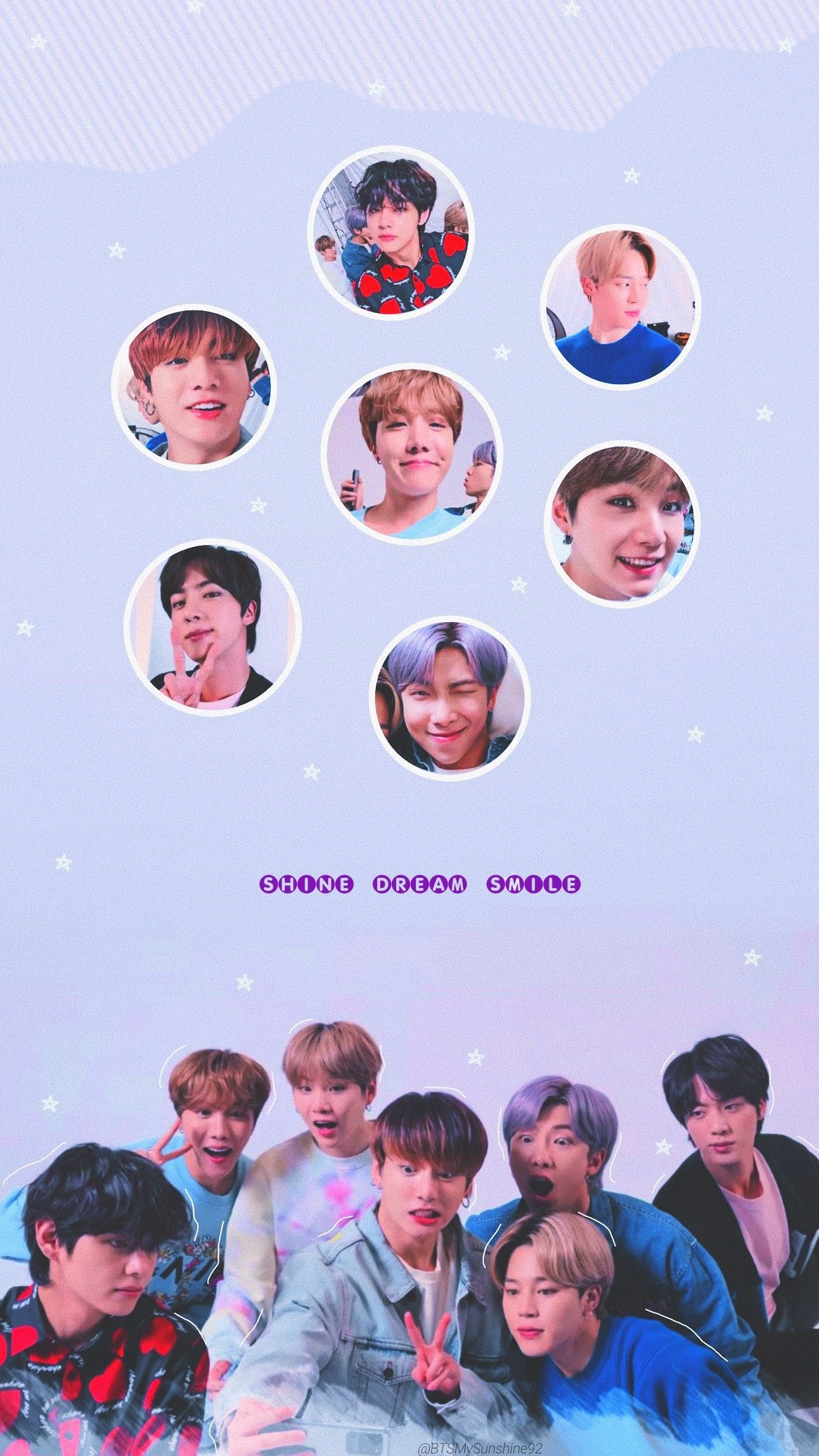 Samsung Galaxy X Bts Di 2020 Wallpaper Ponsel Bts Ponsel