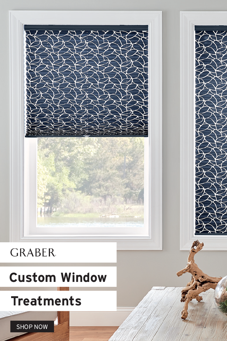 Graber Custom Window Treatments In 2020 Window Treatments